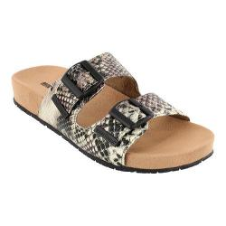 Women's Minnetonka Gypsy Black Python Print Synthetic