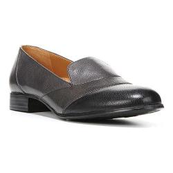 Women's Naturalizer Coretta Slip-On Grey/Black Giglio Leather