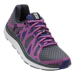 Women's Pearl Izumi EM Road H 3 v2 Running Shoe Shadow Grey/Meadow Mauve