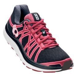 Women's Pearl Izumi EM Road M 3 v2 Running Shoe Black/Honeysuckle