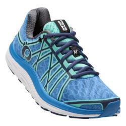 Women's Pearl Izumi EM Road M 3 v2 Running Shoe Sky Blue/Aqua Mint