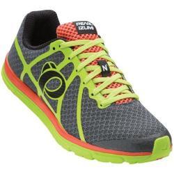 Men's Pearl Izumi EM Road N 1 v2 Running Shoe Shadow Grey/Lime Punch