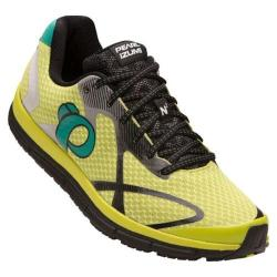 Men's Pearl Izumi EM Road N 2 v3 Running Shoe Lime Punch/Black