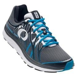 Men's Pearl Izumi EM Road N 3 Running Shoe Shadow Grey/Blue Methyl