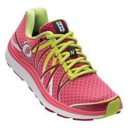 Women's Pearl Izumi EM Road N 3 Running Shoe Honeysuckle/Cerise