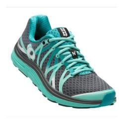 Women's Pearl Izumi EM Road N 3 Running Shoe Shadow Grey/Aqua Mint