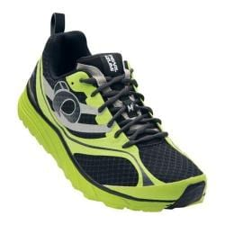 Men's Pearl Izumi EM Trail M 2 v2 Trail Running Shoe Black/Lime Punch