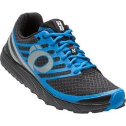 Men's Pearl Izumi EM Trail N 1 v2 Trail Running Shoe Black/Fountain Blue