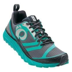 Women's Pearl Izumi EM Trail N 2 v2 Trail Running Shoe Shadow Grey/Dynasty Green
