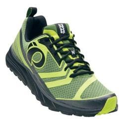 Men's Pearl Izumi EM Trail N 2 v2 Trail Running Shoe Cactus/Lime Punch