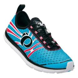 Women's Pearl Izumi EM Tri N 1 v2 Triathlon Shoe Blue Atoll/Electric Pink
