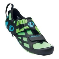 Men's Pearl Izumi Tri Fly V Carbon Triathlon Shoe Green Flash