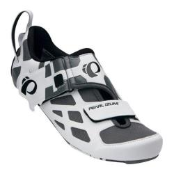 Men's Pearl Izumi Tri Fly V Carbon Triathlon Shoe White/Black