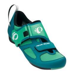 Women's Pearl Izumi Tri Fly V Triathlon Shoe Deep Lake/Gumdrop