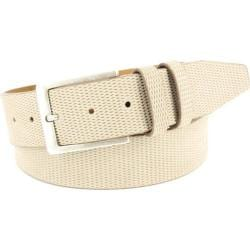 Men's Remo Tulliani Arco Belt White