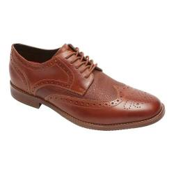 Men's Rockport Stylepurpose Wing Tip Cognac/Scotchgrain