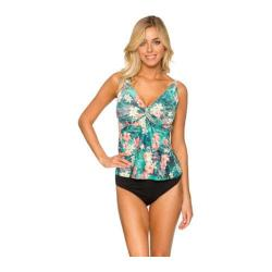 Women's Sunsets Underwire Twist Tankini Tropical Oasis
