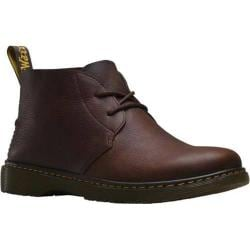 Men's Dr. Martens Ember Desert Boot Dark Brown Grizzly