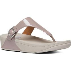 Women's FitFlop The Skinny Thong Sandal Plumthistle Patent