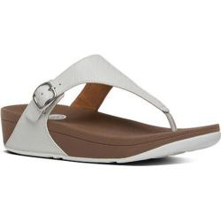 Women's FitFlop The Skinny Thong Sandal Urban White