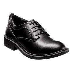 Boys' Florsheim Studio Plain Toe Oxford Jr. Black Leather