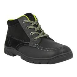 Boys' Florsheim Trektion Hiker Black Leather