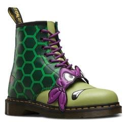 Dr. Martens Donnie 8 Eye Boot Green T Lamper