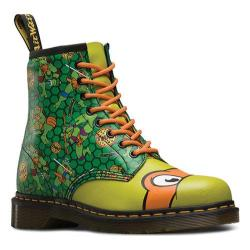 Dr. Martens Mikey 8 Eye Boot Green T Lamper