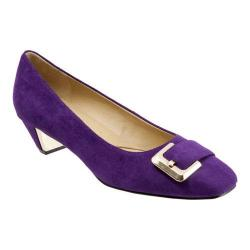 Women's Trotters Fancy Purple Suede