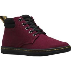 Women's Dr. Martens Belmont Padded Collar 5 Eye Boot Old Oxblood Canvas/Game On Leather