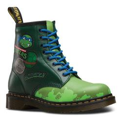 Dr. Martens Leo 8 Eye Boot Green T Lamper