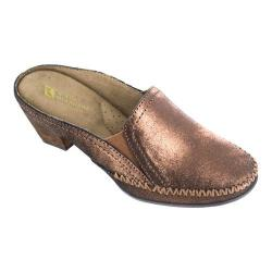 Women's White Mountain Dahling Mule Bronze Leather