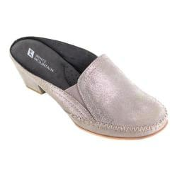 Women's White Mountain Dahling Mule Gold Leather