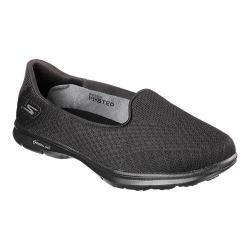 Women's Skechers GO STEP Elated Slip On Walking Shoe Black