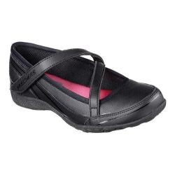 Girls' Skechers Relaxed Fit Breathe Easy Scholastic Superstar Flat Black