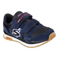 Boys' Skechers Throwbax Sneaker Navy/Black