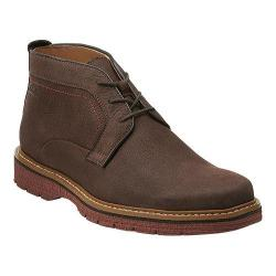 Men's Clarks Newkirk Top Dark Brown Nubuck