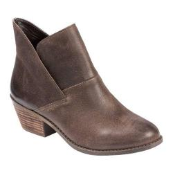Women's Me Too Zale 1 Slip On Boot Brown Pull Up Calf