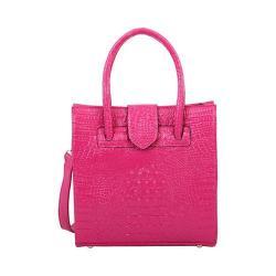 Women's Mellow World Maisy Tote Handbag Fuchsia
