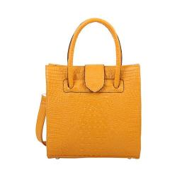 Women's Mellow World Maisy Tote Handbag Mustard