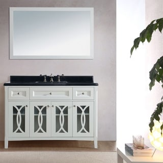 Grazia Collection 48-inches Vanity With Marble Countertop