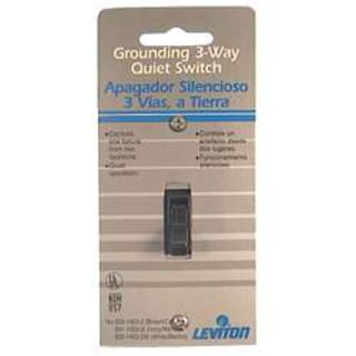 Leviton 215-1453-2 Brown Residential Grade 3-Way AC Quiet Switches Toggle