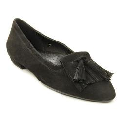 Women's VANELi Gemma Kiltie Loafer Black Suede