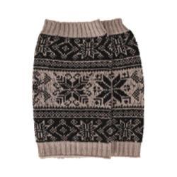 Women's San Diego Hat Company Intarsia Infinity Knit Scarf BSS1687 Black