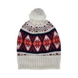 Women's San Diego Hat Company Knit Beanie KNH3411 Ivory