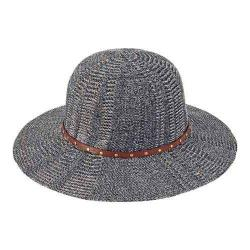 Women's San Diego Hat Company Knit Floppy Sun Hat KNH3392 Indigo