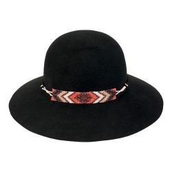 Women's San Diego Hat Company Wool Felt Floppy Hat WFH8020 Black