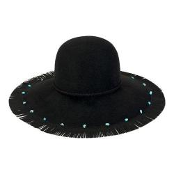 Women's San Diego Hat Company Wool Felt Floppy Sun Hat WFH8023 Black