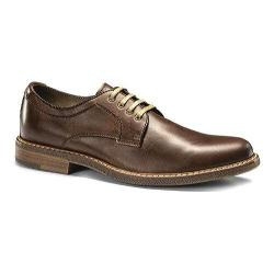 Men's Dockers Canehill Plain Toe Derby Brown Burnished Full Grain Leather
