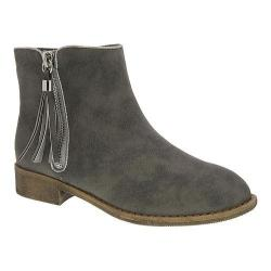 Girls' Nina Puffie Ankle Boot - Big Kid Grey Nubuck